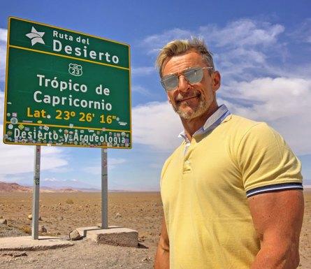 CarlosdeViaje en el Trópico de Capricornio