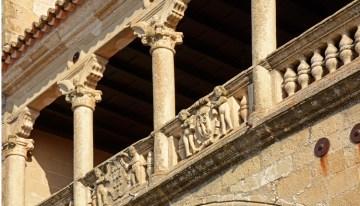 Balcón del Palacio de Orellana