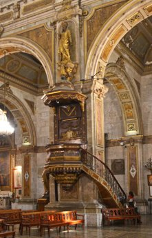 Catedral - Púlpito