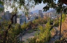 Santiago desde Cerro Santa Lucia