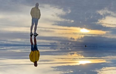 Efecto espejo - Foto al revés