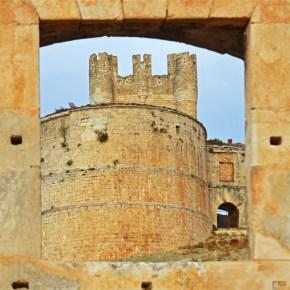 Uno de los tambores de la fortaleza artillera