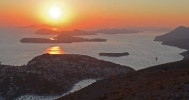 Bahía de Lapad e Islas Elafiti