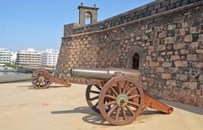 Castillo de San Gabriel - Cañones