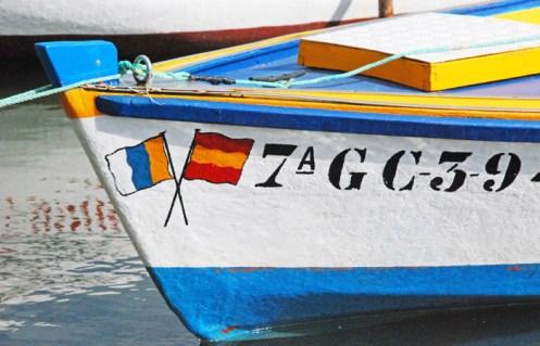 Barca en el Charco de San Ginés