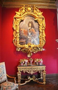 Salón Luis XIV - Retrato del Monarca