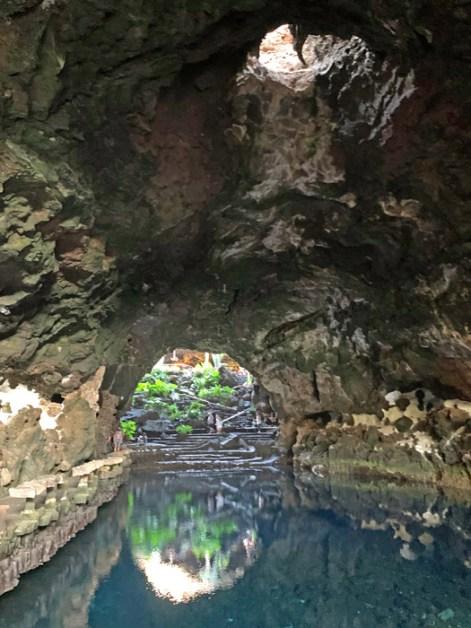 Vista de la sala lacustre