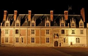 Castillo de Blois - Fachada de Luis XII