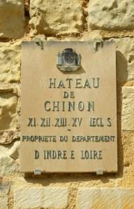 Cartel : Propiedad del Depto. de Indre y Loira