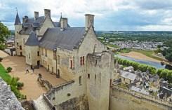 Château du Milieu desde el Castillo de Coudray