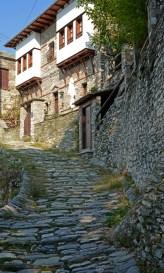Makrinitsa. Calle y Cas Tradicional