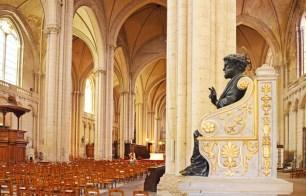 Interior de la Catedral de Poitiers