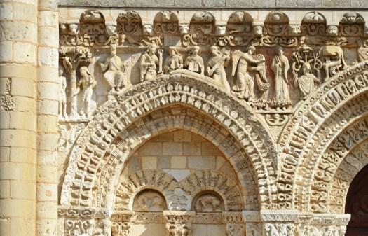 La iconografía románica servía para explicar pasajes de la Biblia