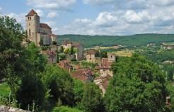 Vista de conjunto de Saint-Cirq-Lapopie