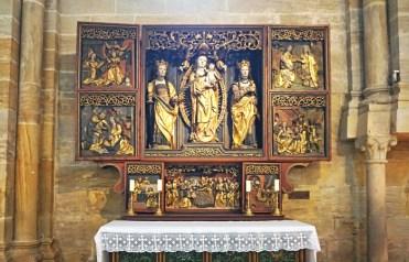 Tríptico de Nuestra Señora - Catedral Bamberg