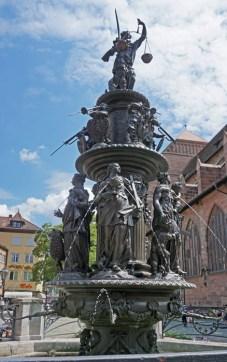 Tugendbrunnen / Fuente de las Virtudes