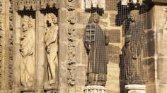 Esculturas de la fachada (Lorenzkirche)