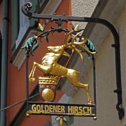 Goldener Hirsch (Ciervo Dorado)