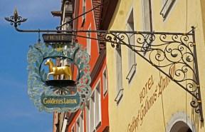Forja del Hotel del Cordero Dorado (Goldenes Lamm)