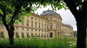 Residenz Wurzburgo - Arquitecto Balthasar Neumann