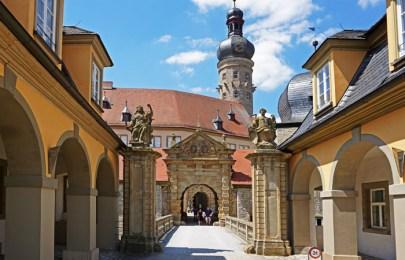 Acceso al Castillo de Weikersheim