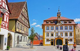Markplatz & Rathaus (Röttingen)