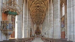 Interior Catedral de San Jorge (Dinkelsbühl)