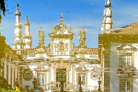 Palacio Mateus, Reflejos
