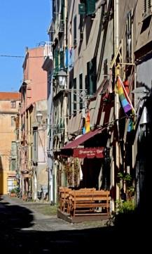 Alguero. Calle del Centro Histórico