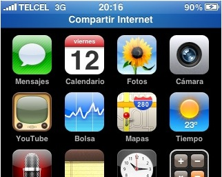 Tethering del iPhone sobre Windows