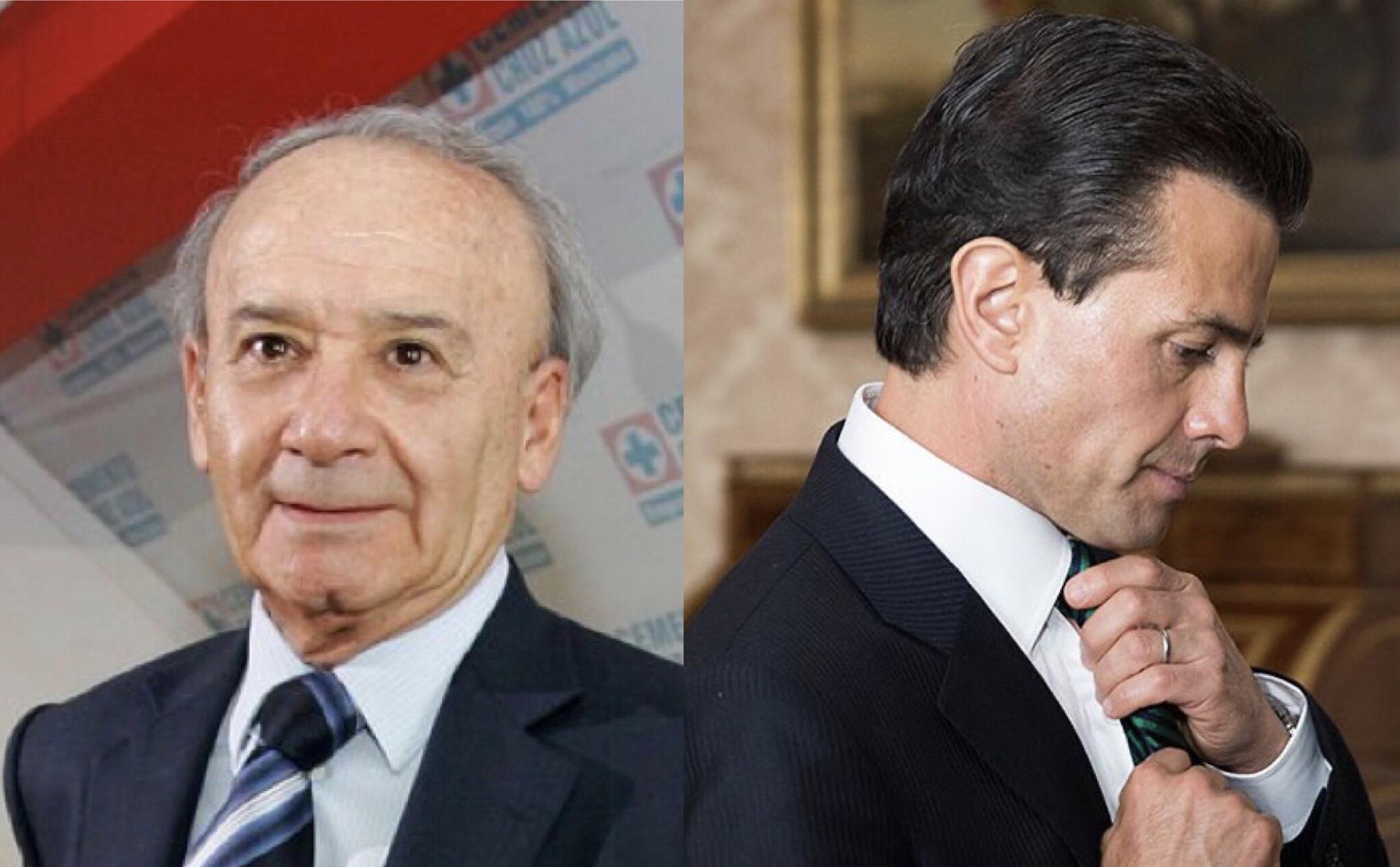 195 millones en la conexión Cruz Azul -Peña Nieto