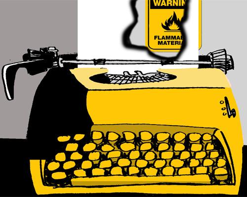 De cómo se me ocurrió eso de escribir y ser periodista