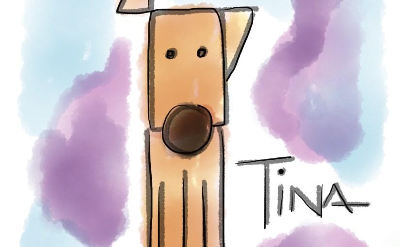 Tina, «la perrita más jeroz de tuitica la manada»