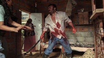Escena carnicería La Mujer del Animal