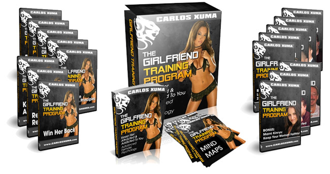 1 BigProgram compressed - Carlos Xuma – Girlfriend Training Program : How To Keep Your Girlfriend Attracted To You And Into You