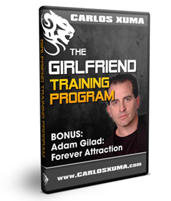 1 Bonus AdamGilad1 sml - Carlos Xuma – Girlfriend Training Program : How To Keep Your Girlfriend Attracted To You And Into You