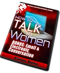 BONUS E comm DVD6 sml - How to Talk to Women by Carlos Xuma