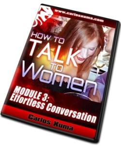 MOD3 DVD6 sml - How to Talk to Women by Carlos Xuma