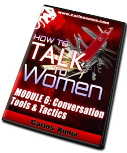 MOD6 DVD6 sml - How to Talk to Women by Carlos Xuma