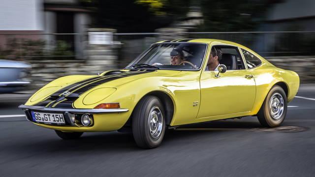 50 anni fa la Opel GT e Carlotti Luciano Srl