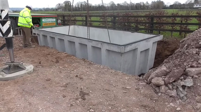 Slatted Tanks | Agricultural Tanks in Ireland with Carlow Concrete Tanks