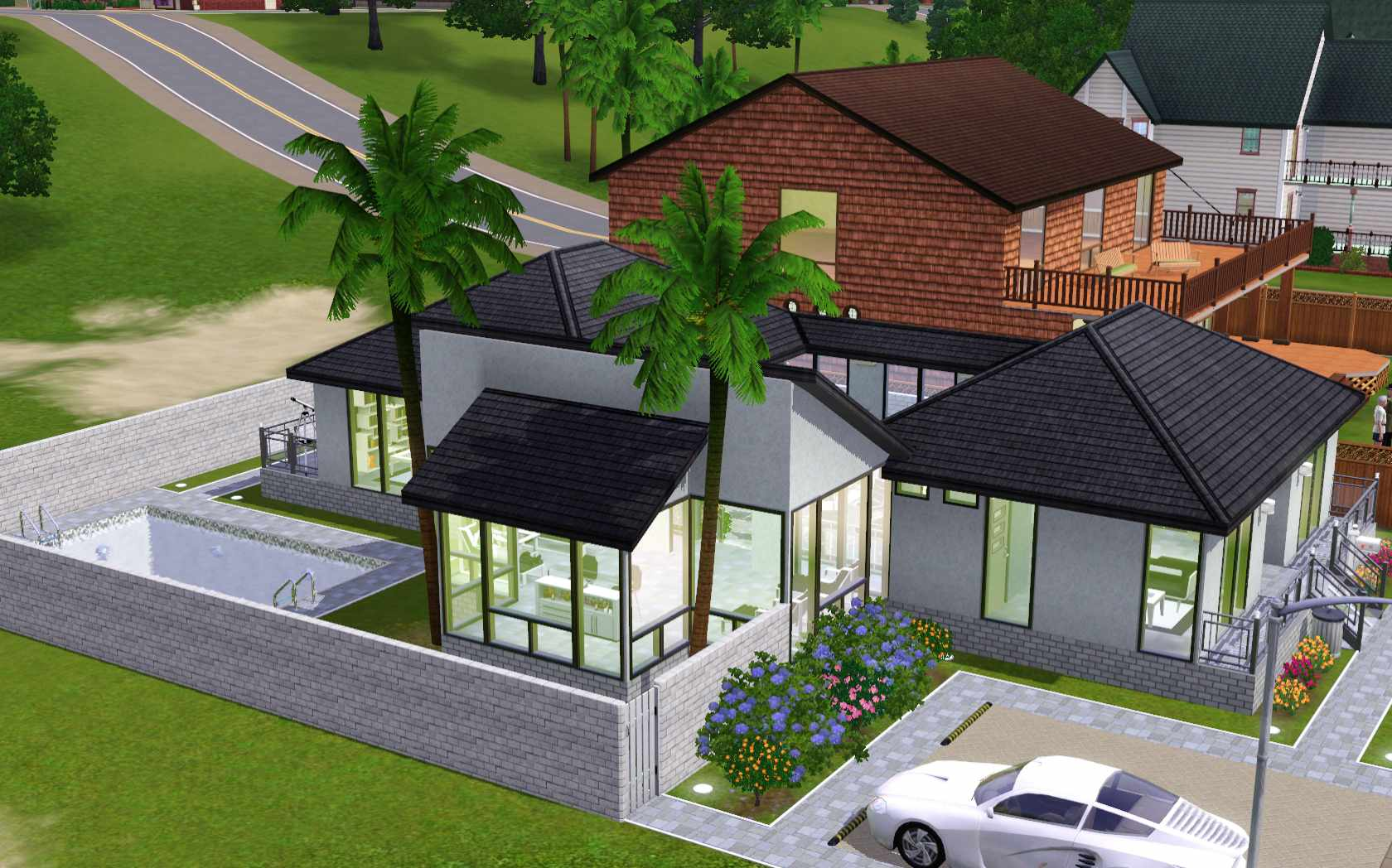 The Sims 3  Room Build Ideas and Examples The Sims 3 Home Building and Design