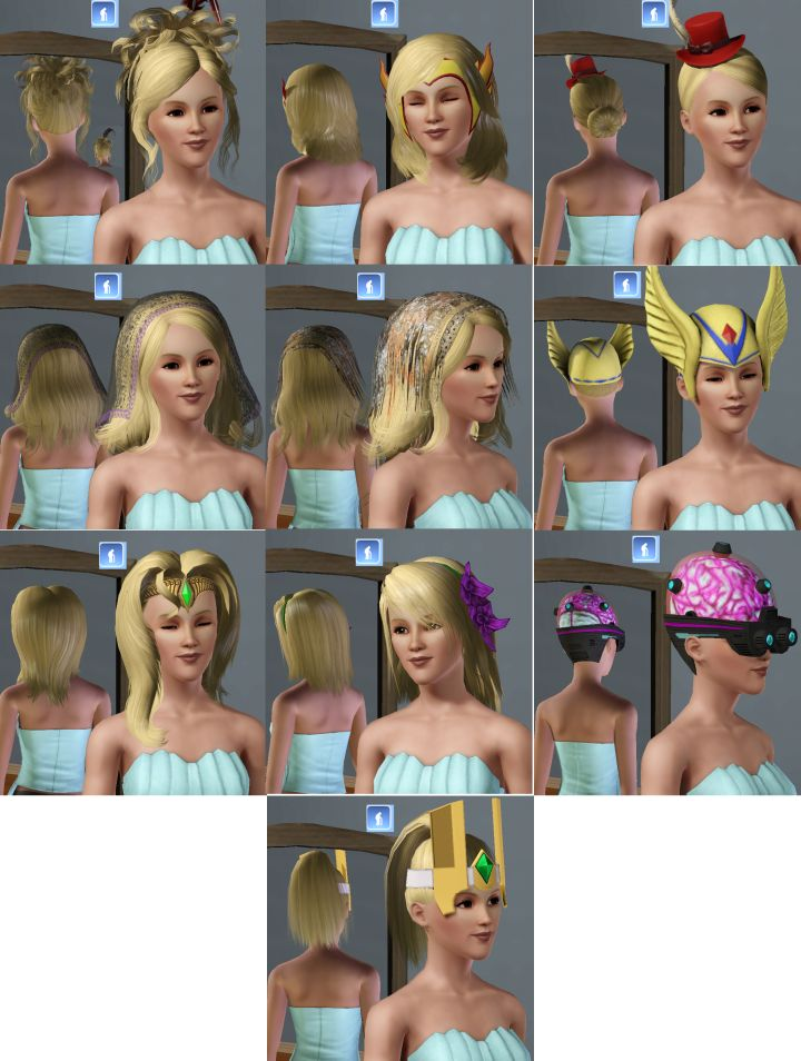 sims 3 hair expansion pack   Amathair co