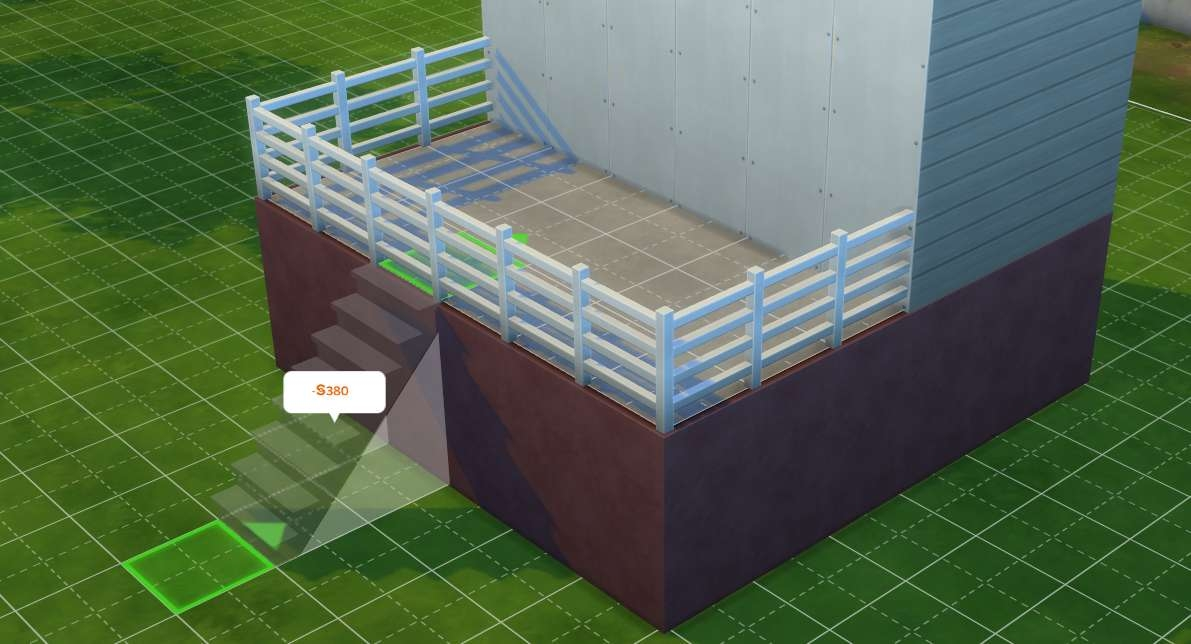The Sims 4 Building Stairs And Basements | Cost To Build Stairs To Basement | Spiral Staircase | Deck | Risers | Doors | Stair Treads