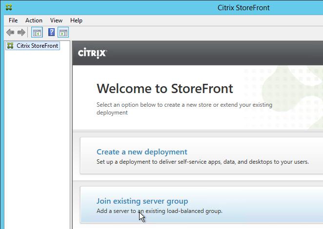 StoreFront Basic Configuration – Carl Stalhood