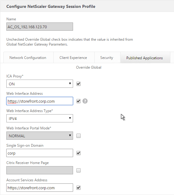 StoreFront 3 0 and older Config for NetScaler Gateway – Carl