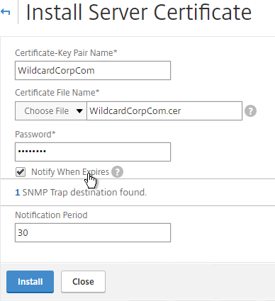 NetScaler 11.1 Certificates – Carl Stalhood
