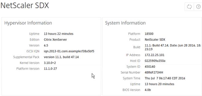 NetScaler SDX 11 1