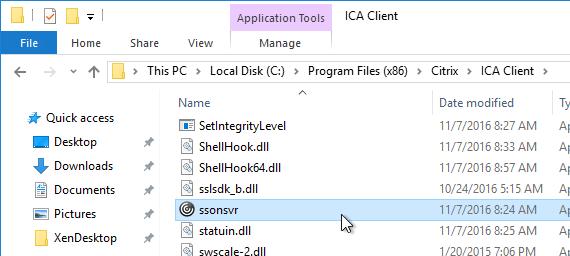 cintrix removes ica file