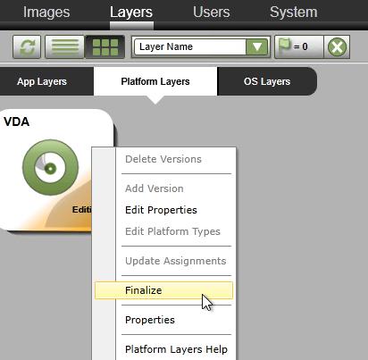 App Layering – OS Layer and Platform Layer – Carl Stalhood